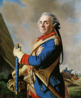 Jean-Etienne Liotard Maurice, Count of Saxony, Marshal of France