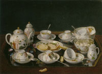 Jean-Etienne Liotard Still-life Tea Set