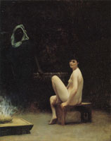 Jean-Léon Gérôme Nude at the Baths