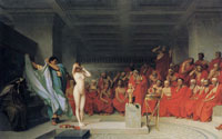 Jean-Léon Gérôme Phryne before the Areopagus