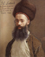 Jean-Etienne Liotard Self-Portrait