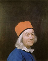 Jean-Etienne Liotard Self-Portrait with a Red Cap
