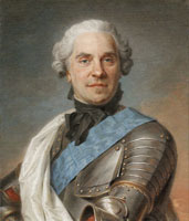 Maurice-Quentin de La Tour Maurice, Count of Saxony, Marshal of France