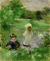 Berthe Morisot At the Lake