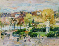 Berthe Morisot View of Tours