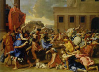 Nicolas Poussin Rape of the Sabine Women