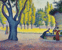 Paul Signac Saint-Tropez. Fontaine des Lices