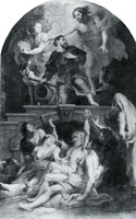 Peter Paul Rubens St Roch as patron of the plague stricken