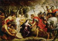 Peter Paul Rubens David and Abigail