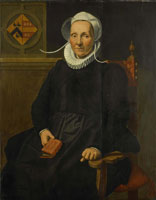 Pieter Pietersz. Dirckje Tymansdr. Gael, Called van der Graft, wife of Mattheus Steijn