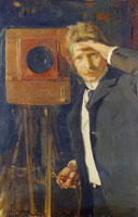 Joaquin Sorolla y Bastida Portrait of the photographer Cristian Franzen