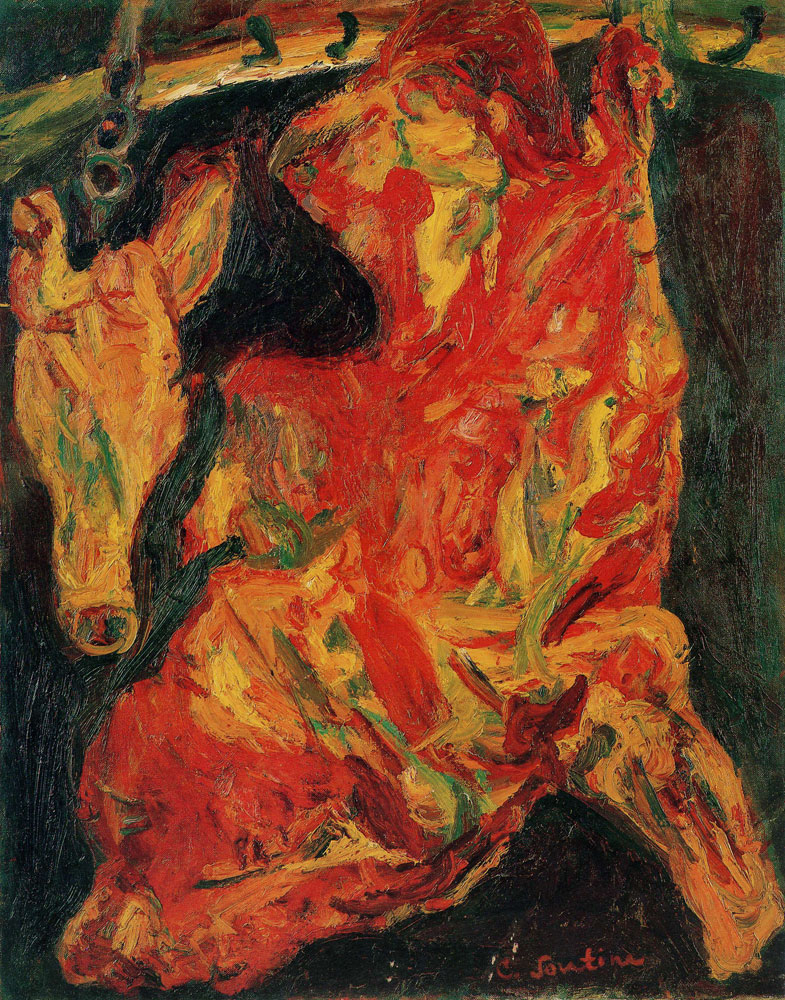 Chaim Soutine - Side of Beef and Calf's Head