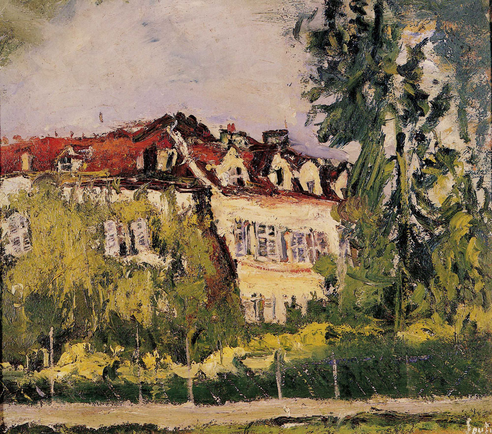 Chaim Soutine - Landscape with House