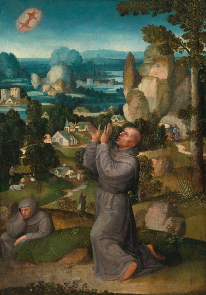 Adriaen Isenbrant - The Stigmatization of Saint Francis