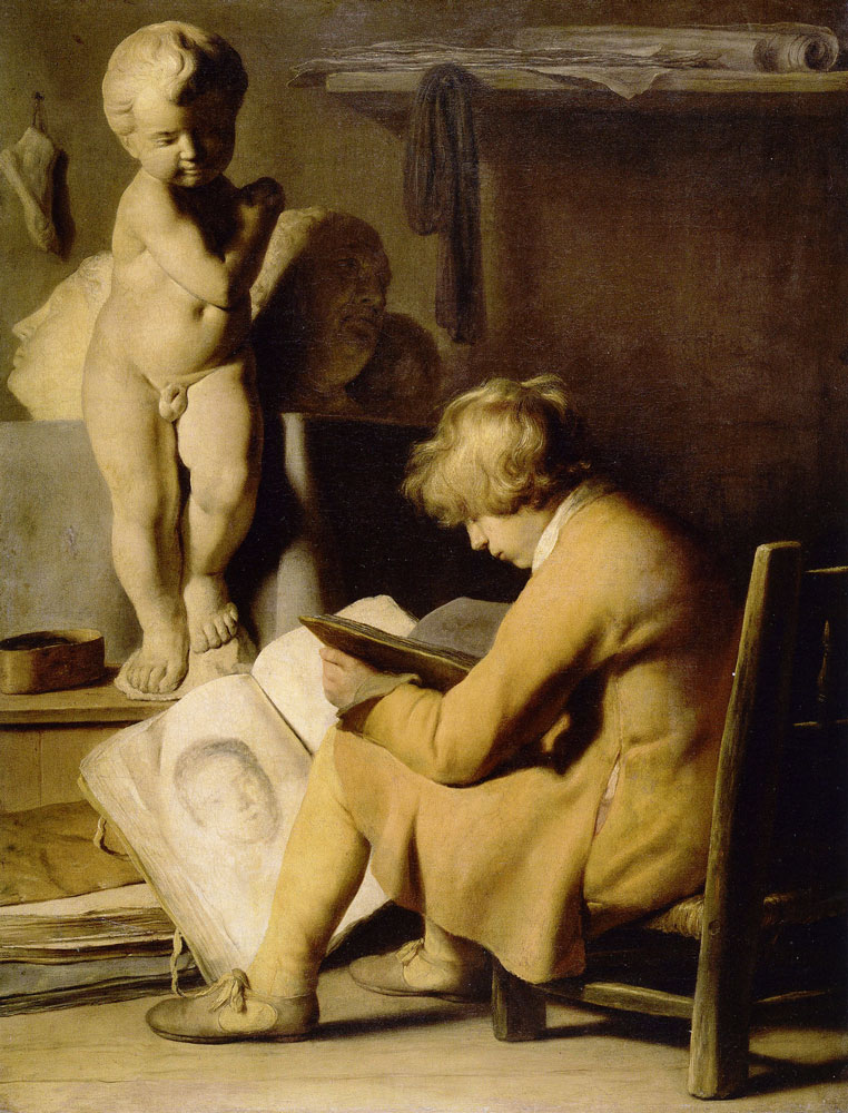 Jan Lievens - Boy in a Workshop
