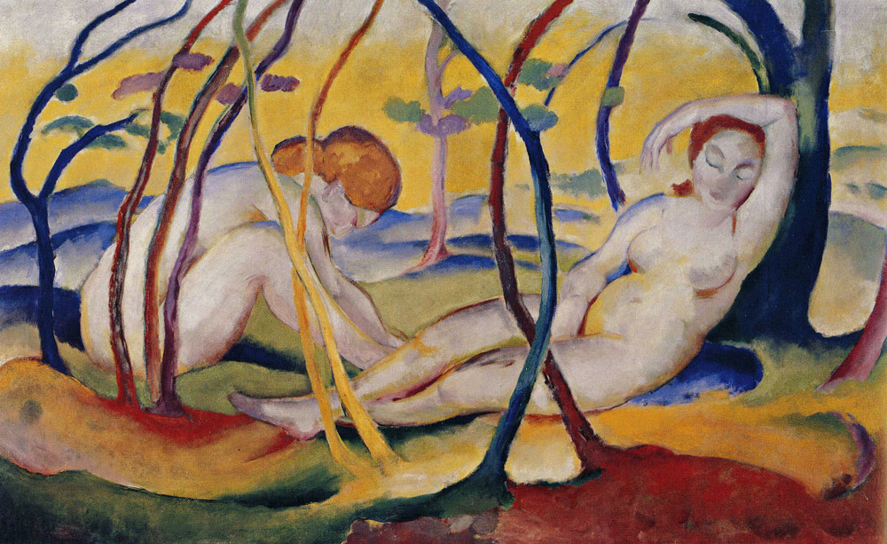 Franz Marc - Nudes in the Open Air