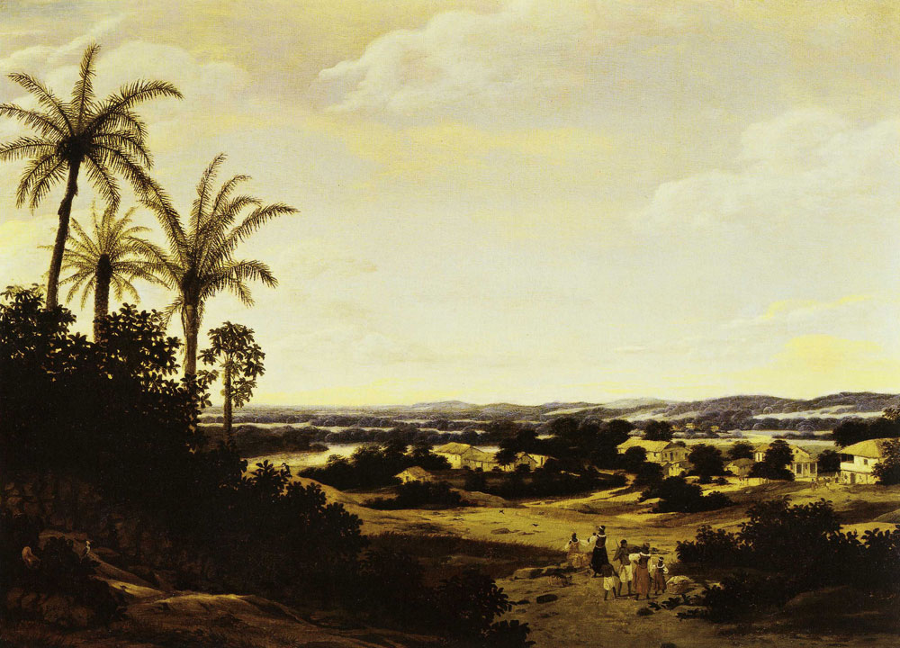 Frans Post - Varzea Landscape with Small Village