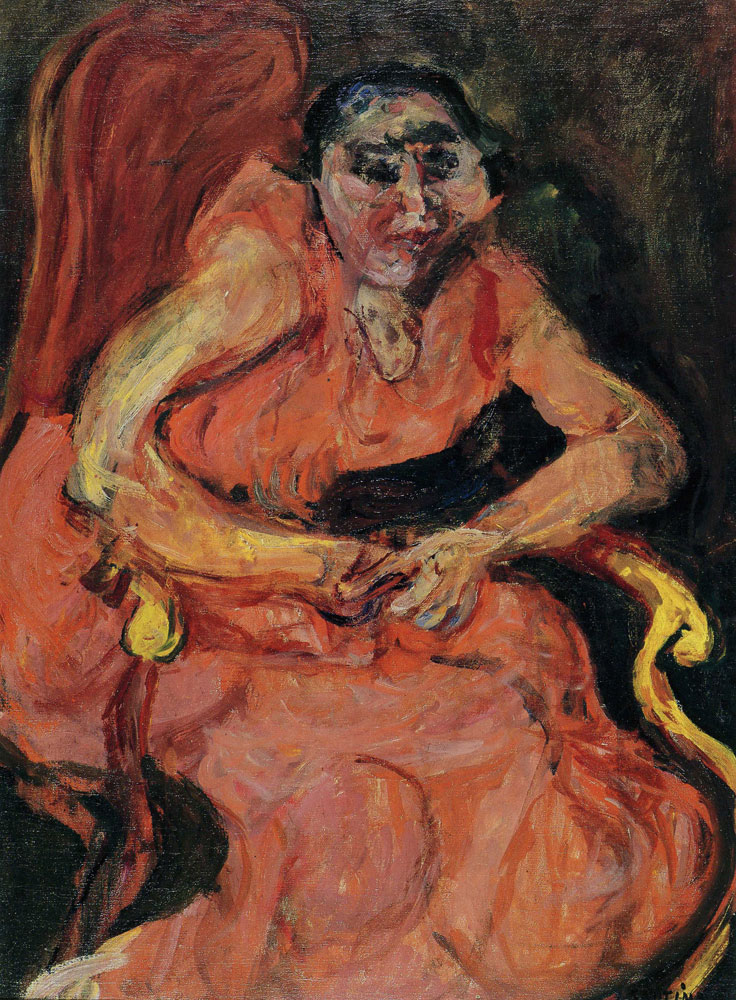 Chaim Soutine - Woman in Pink