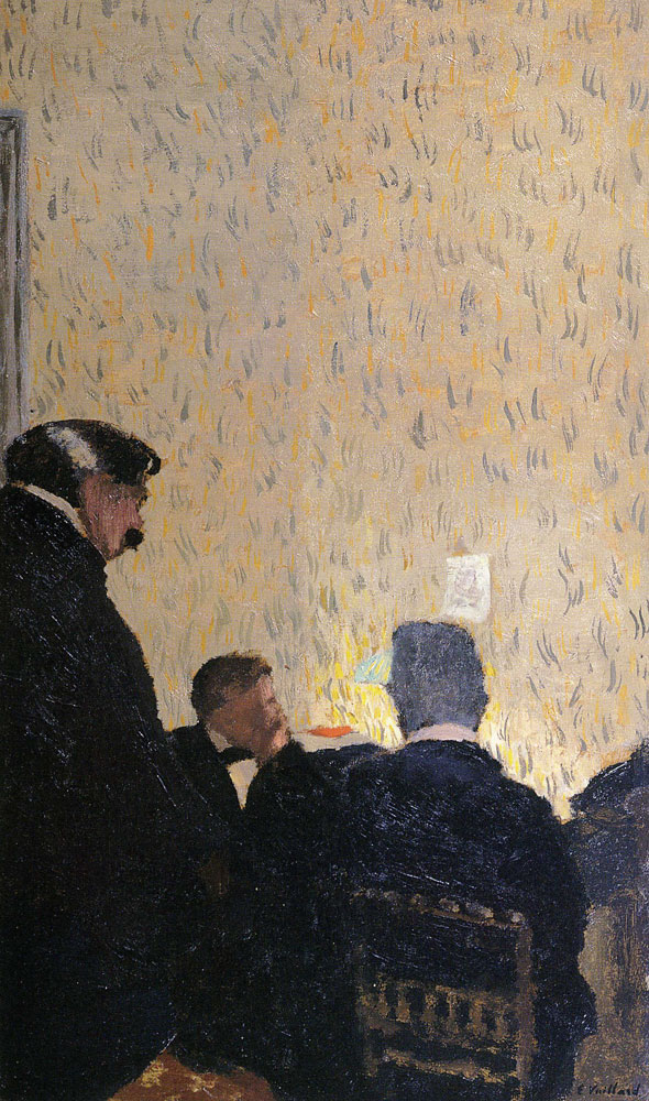 Edouard Vuillard - Gentlemen in Black