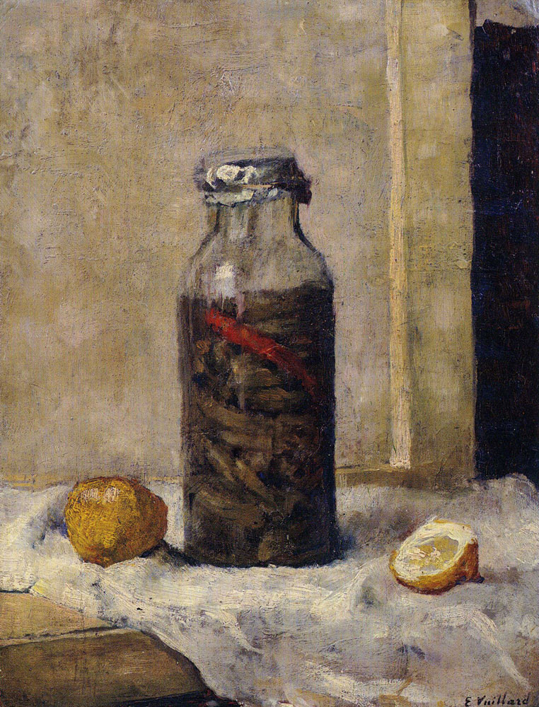 Edouard Vuillard - Jar of Gherkins