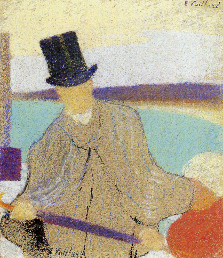 Edouard Vuillard - Man in a Top-Hat