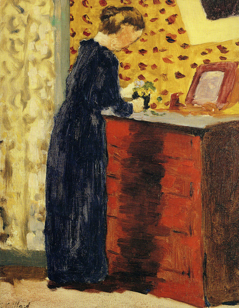 Edouard Vuillard - The Red Chest of Drawers
