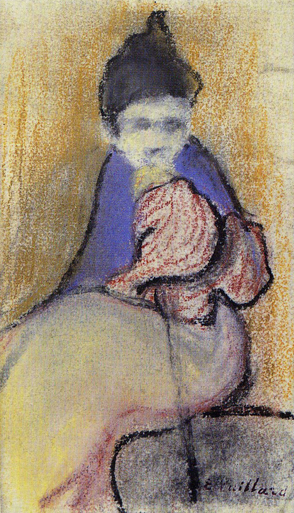 Edouard Vuillard - Seated Woman