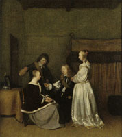 Gerard ter Borch - Gallant Conversation