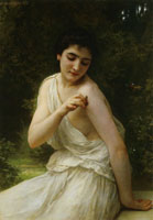 William-Adolphe Bouguereau - The Butterfly