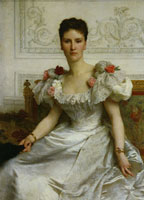 William-Adolphe Bouguereau - Portrait of Madame la Comtesse de Cambacérès