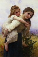 William-Adolphe Bouguereau Pleasant Burden