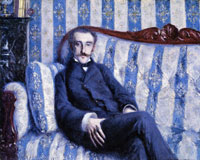 Gustave Caillebotte - Portrait of Monsieur R.