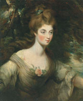 John Constable Portrait of Elizabeth, Lady Croft