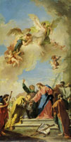 Giambattista Pittoni Christ Giving the Keys of Heaven to St. Peter
