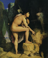 Jean Auguste Dominique Ingres Oedipus and the Sphinx