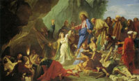 Jean Jouvenet The Resurrection of Lazarus