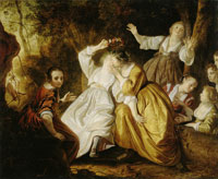 Jacob van Loo The Kissing Competition