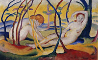Franz Marc Nudes in the Open Air