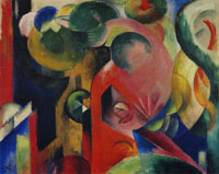 Franz Marc Small Composition III