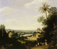 Frans Post - Landscape with Village and Ruins