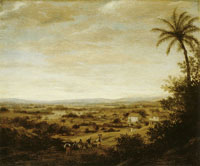 Frans Post Varzea Landscape with Sugar Mill