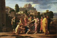 Nicolas Poussin The Healing of the Blind of Jericho