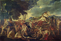 Nicolas Poussin - The Triumph of Flora