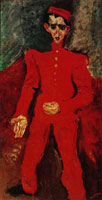 Chaim Soutine - Page Boy at Maxim's