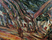 Chaim Soutine Plane Trees at Céret