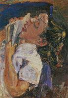Chaim Soutine Woman Asleep over a Book