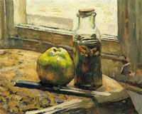 Edouard Vuillard Jar of Gherkins and an Apple