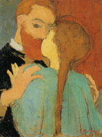 Edouard Vuillard The Kiss