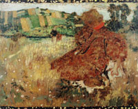 Edouard Vuillard The Lady in the Fields