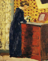 Edouard Vuillard The Red Chest of Drawers